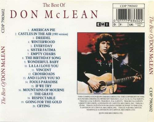 the themes in the song american pie by don mclean Mix - don mclean- american pie (with lyrics) youtube don mclean - the meaning of american pie (update)  your song - elton john - duration: 3:58 nina santiago 40,563,887 views.