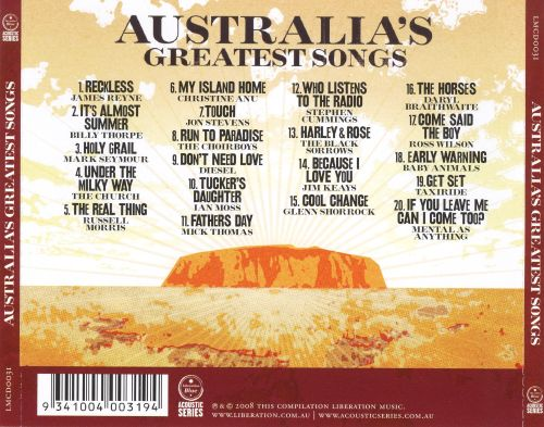 Australia's Greatest Songs