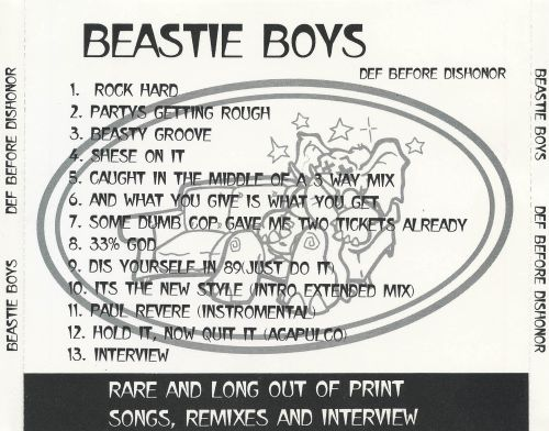 a review of the beastie boys and their music The beastie boys — mike d, mca and ad-rock — are back after a three-year hiatus with their most unconventional outing to date while their first two albums, licensed to ill and paul's.