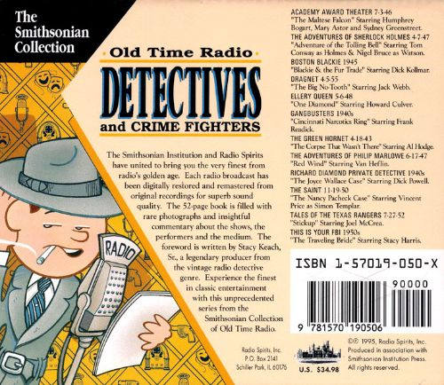 Old Time Radio: Detectives and Crime Fighter