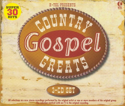 Country Gospel Greats [K-Tel Box]