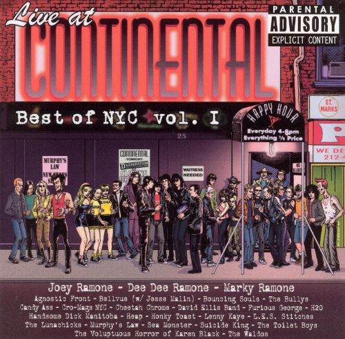 Live at Continental: Best of NYC, Vol. 1