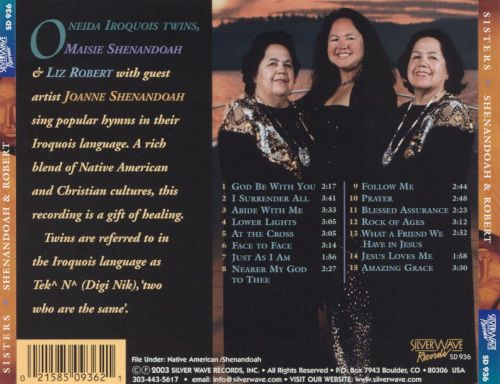 Sisters: Oneida Iroquois Hymns