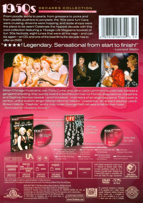 Some Like It Hot: 1950s Decades Collection