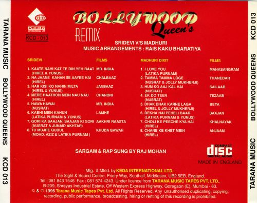 Bollywood Queens Remix