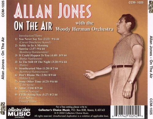Gentleman of Song: On the Air with the Woody Herman Orchestra