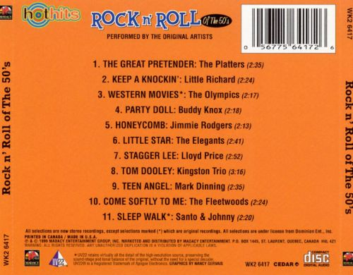 Rock N' Roll of the 50's, Vol. 1