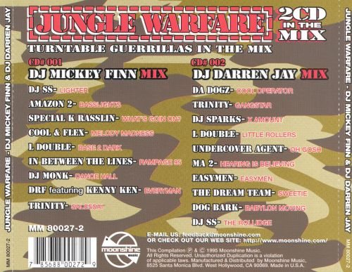 Jungle's Turntable: Guerrillas in the Mix
