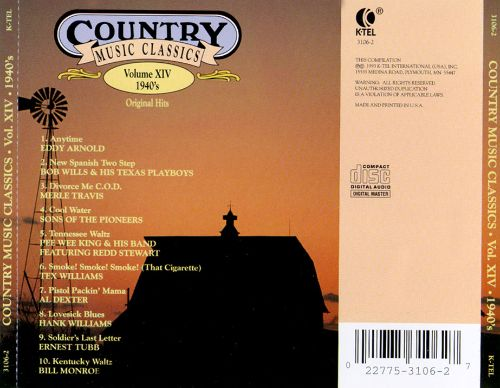 Country Music Classics, Vol. 14 (1940's)