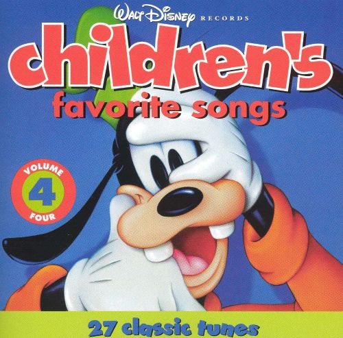 Disney Children's Favorites Songs, Vol. 4