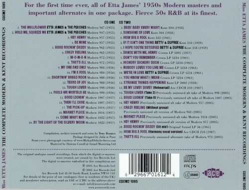 The Complete Modern and Kent Recordings