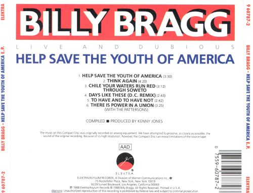 Help Save the Youth of America EP: Live and Dubious