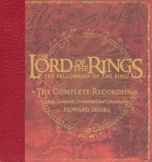 The Fellowship Of The Ring Soundtrack Complete Recordings