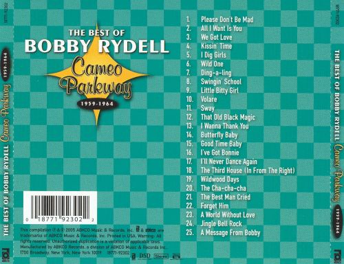 The Best of Bobby Rydell: Cameo Parkway 1959-1964