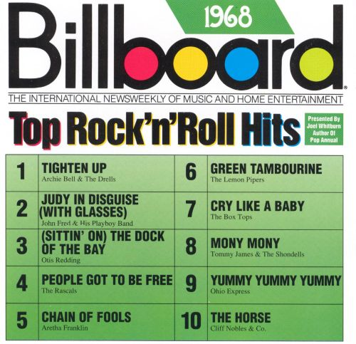Billboard Top Rock & Roll Hits: 1968