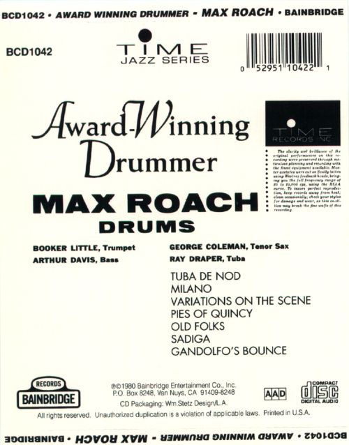 Award-Winning Drummer