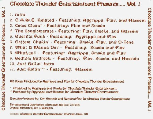 Chocolate Thunder Entertainment Presents, Vol. 1