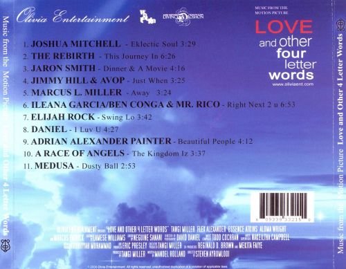 Music from the Motion Picture Love and Other 4 Letter Words - Original ...
