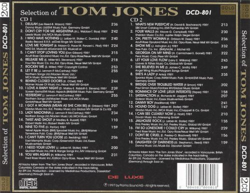 Selection of Tom Jones