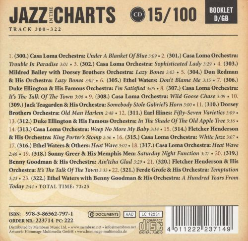 Jazz in the Charts 15/100: 1933