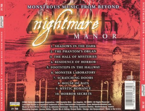 Nightmare Manor: Monstrous Music from Beyond