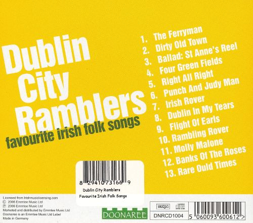 Favorite Irish Folk Songs