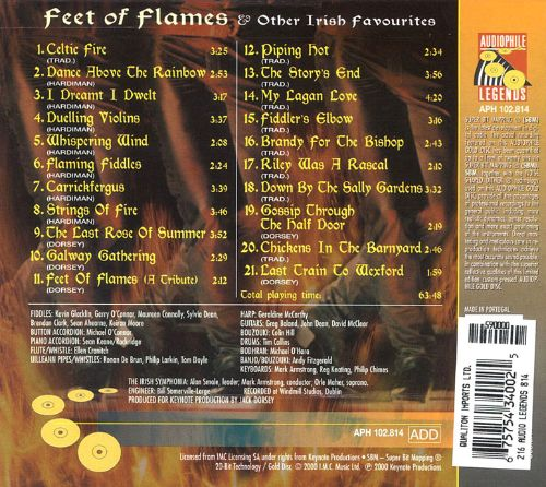 Feet of Flames and Other Irish Favorites