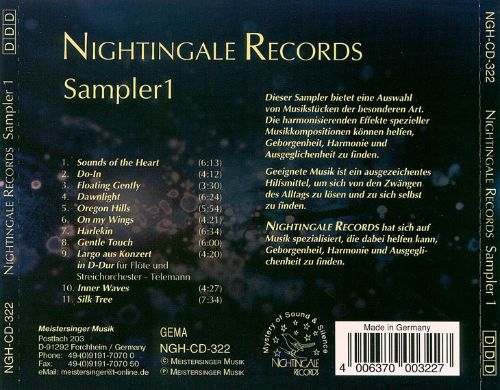 Sampler, Vol. 1 [Nightingale]