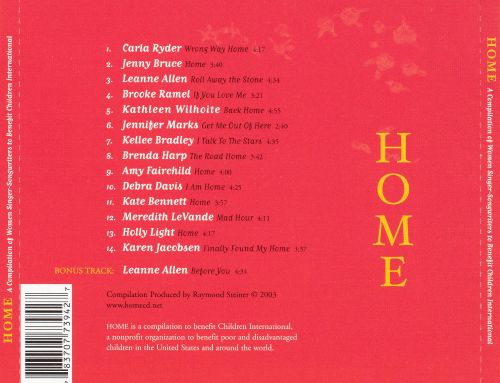 Home: A Compilation of Women Singer-Songwriters to Benefit Children International