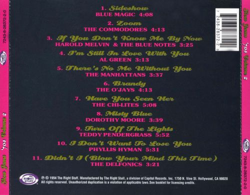 Slow Jams: The 70's, Vol. 2