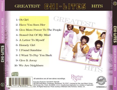 Greatest Hits [KRB]