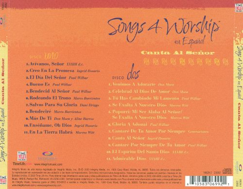 Songs 4 Worship: En Espanol