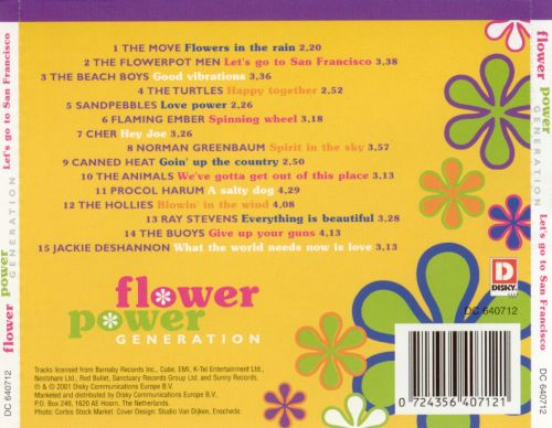 Flower Power Generation: Let's Go to San Francisco