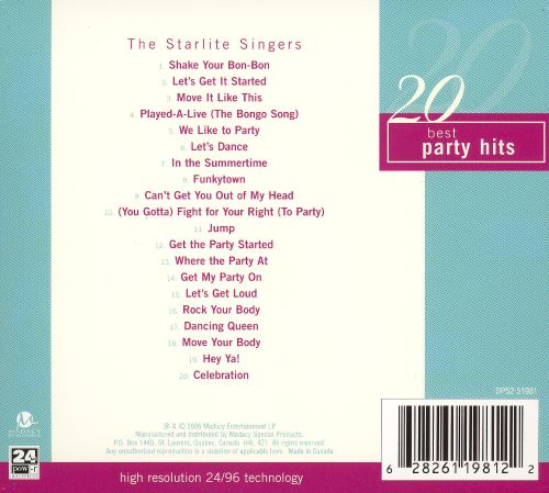 20 Best Party Hits