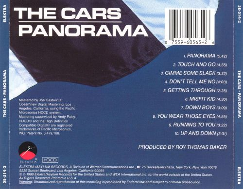 Panorama the cars songs reviews credits allmusic