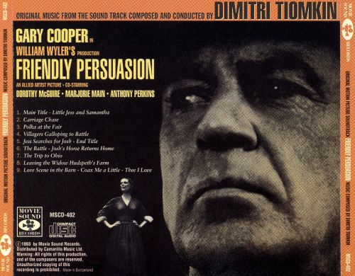 Friendly Persuasion [Original Music from the Soundtrack of the Motion Picture]