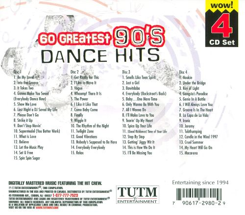 60 greatest 90 39 s dance hits various artists songs for 90 s house music songs