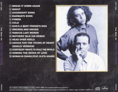 The Best of Tears for Fears