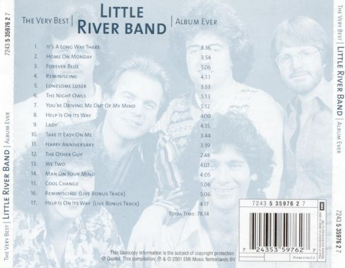 The Very Best Little River Band Album Ever