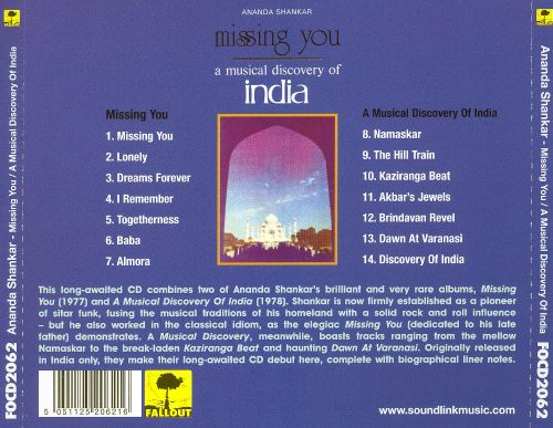 Missing You/A Musical Discovery of India