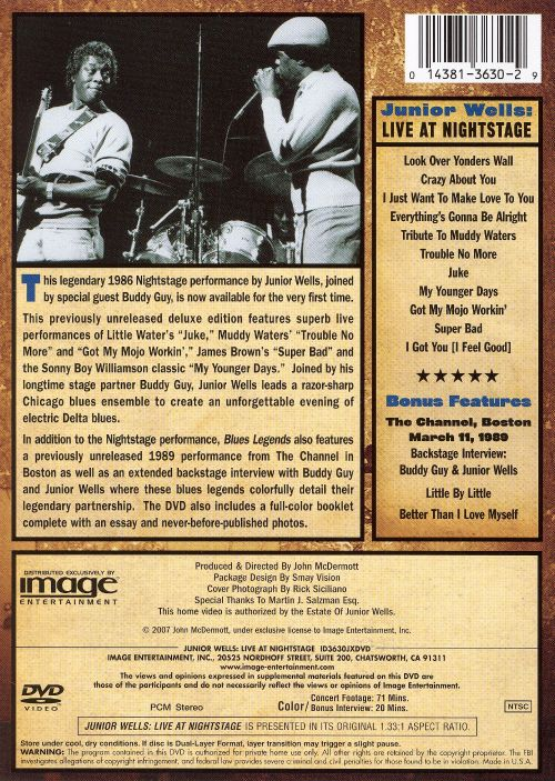 Live at Nightstage [DVD]