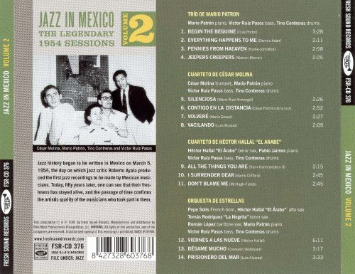 Jazz in Mexico, Vol. 2: Legendary 1954 Sessions