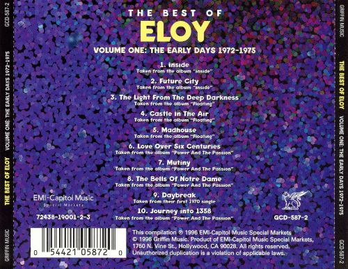 The Best of Eloy, Vol.1: The Early Days 1972-1975