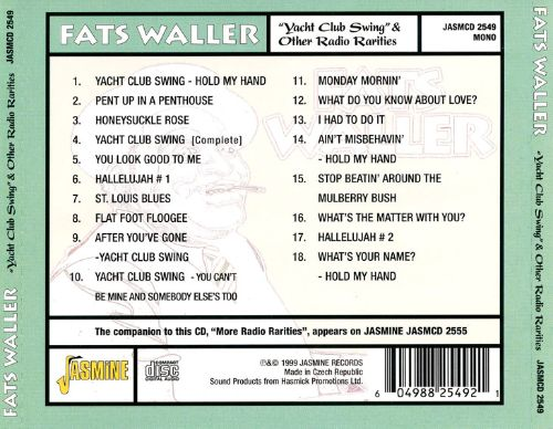Yacht Club Swing & Other Radio Rareties