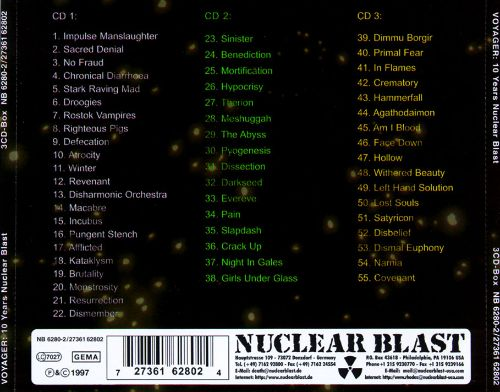 Voyager: The Nuclear Blast 10 Year Anniversary