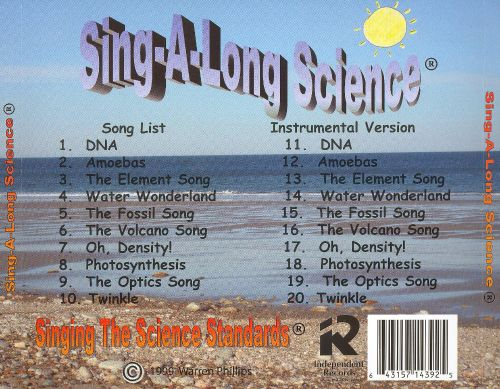 Sing-A-Long Science