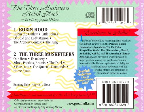 Three Musketeers/Robin Hood