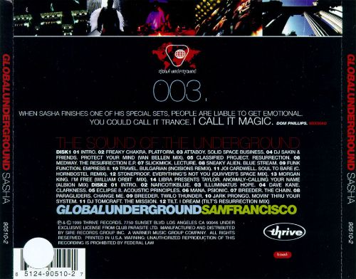 Global Underground: San Francisco
