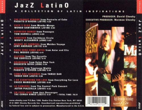 Jazz Latino: A Collection of Latin Inspirations