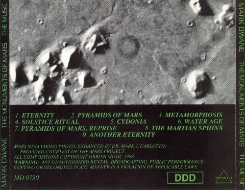 The Monuments of Mars [#1]